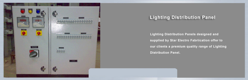 Lighting distribution Panel